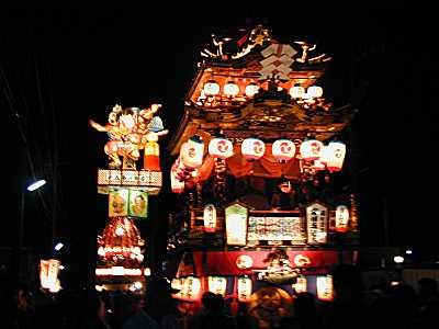 燈篭山祭り