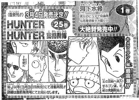 ハンター×ハンター 25巻