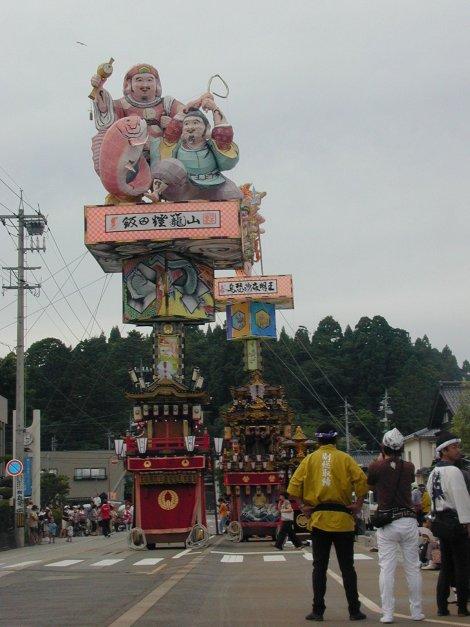 飯田の燈篭山二基