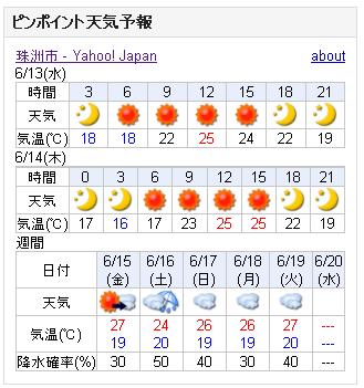 06/13天気予報