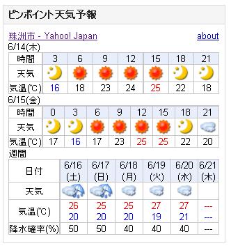 06/14天気予報