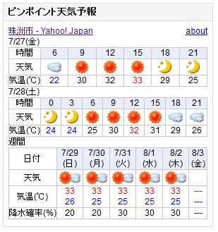 07/27天気予報