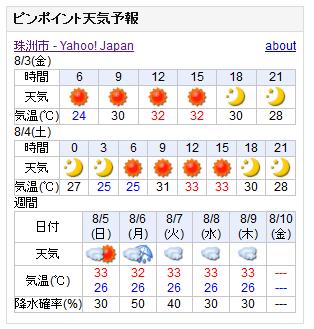 06/03天気予報