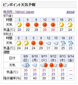09-07天気予報