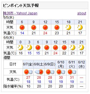 06-05天気予報