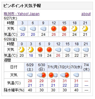 06-27天気予報