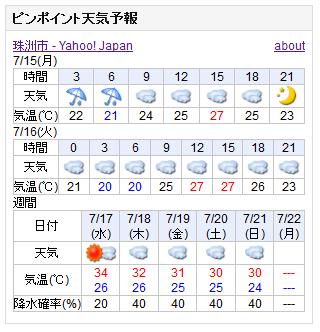 07-15天気予報