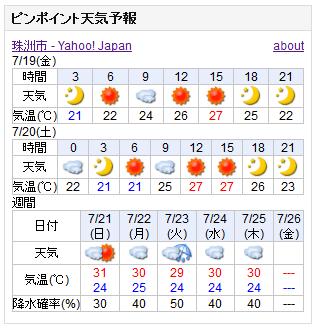 07-19天気予報