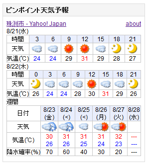 08-21天気予報