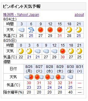 08-24天気予報