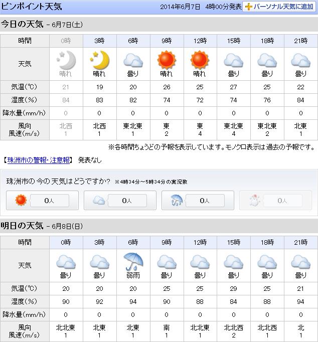 06-07天気予報