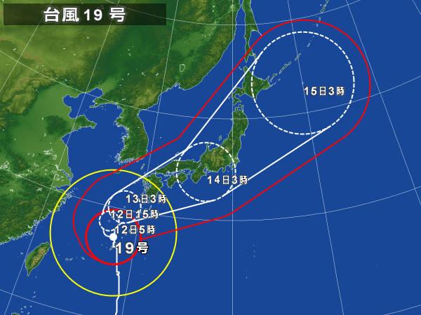 10/12台風19号
