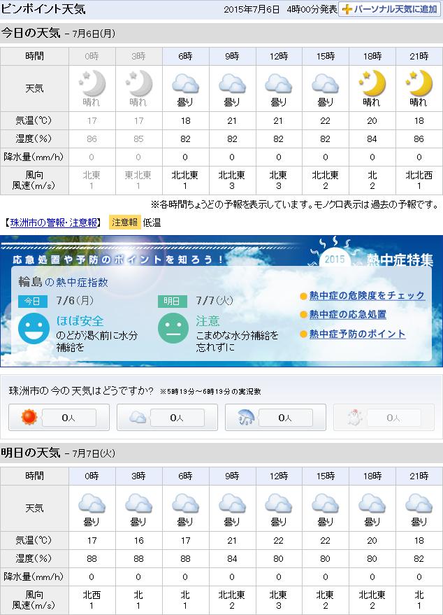07-06天気予報