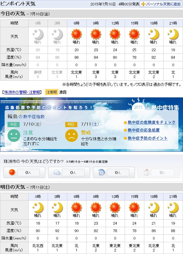 07-10天気予報
