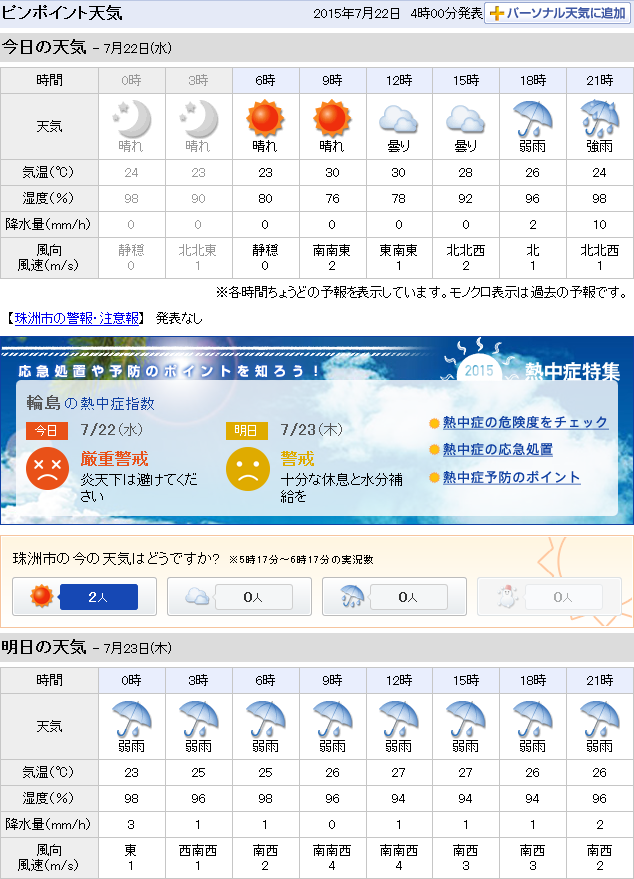 07-22天気予報
