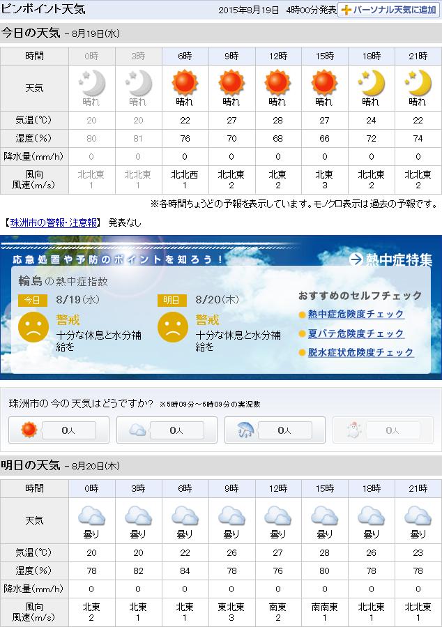 08-19天気予報