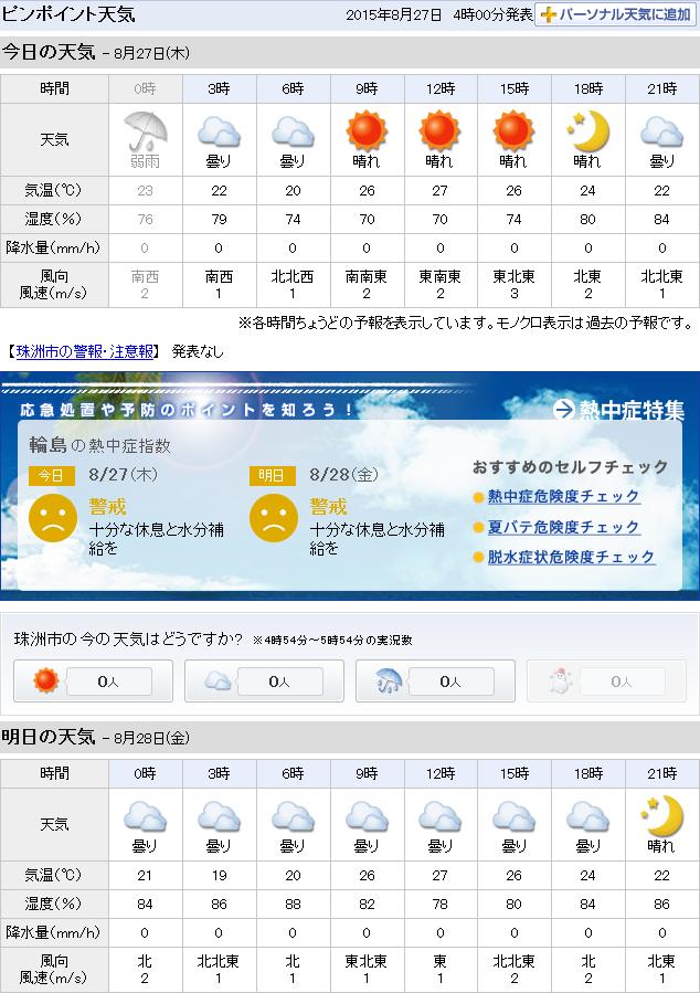 08-27天気予報