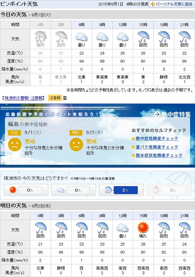 09-01天気予報