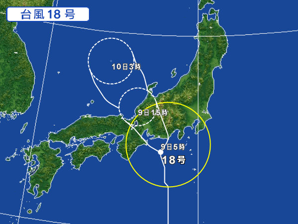 台風18号-3