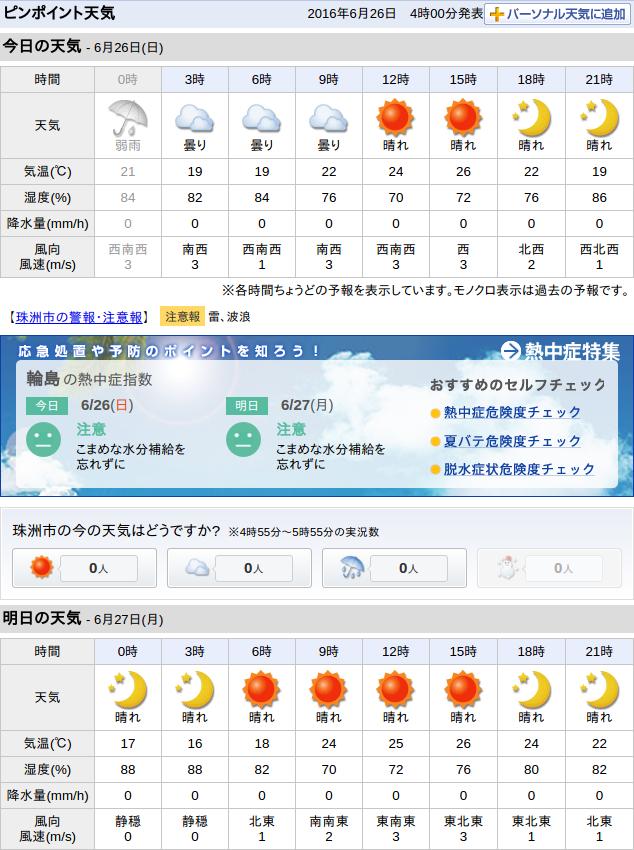 06-26天気予報