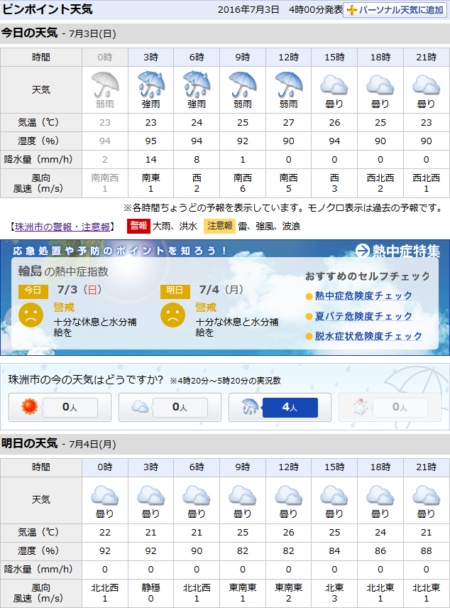 07-03天気予報