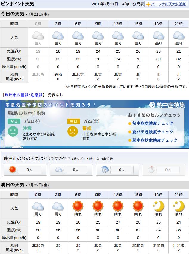 07-21天気予報