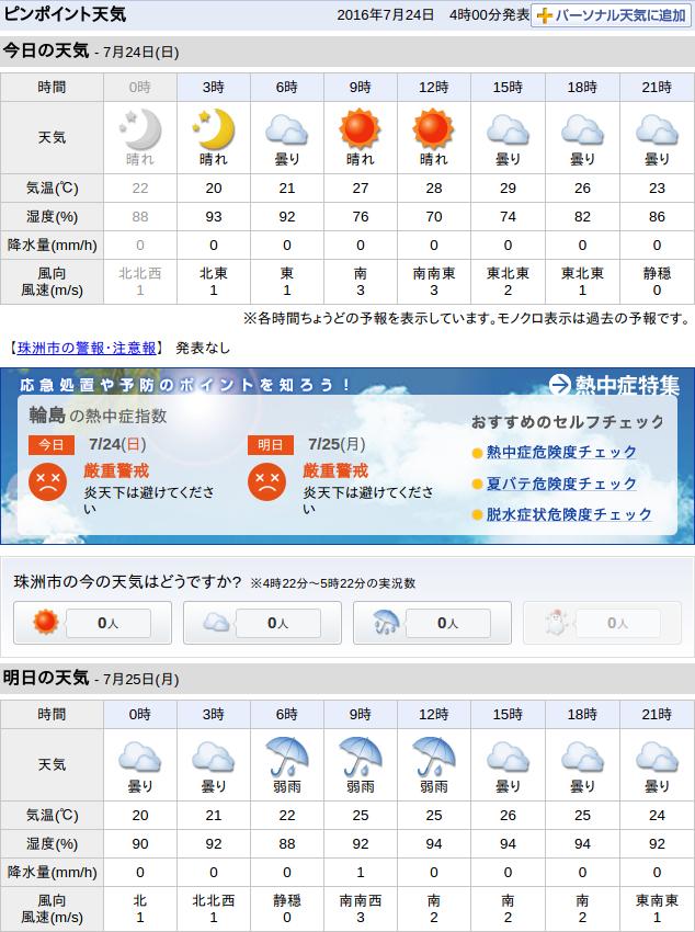 07-24天気予報