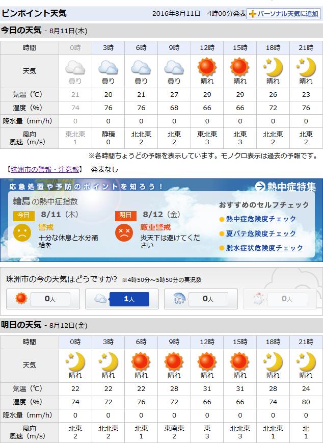 08-11天気予報