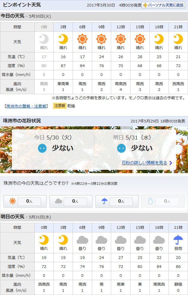 05-30天気予報