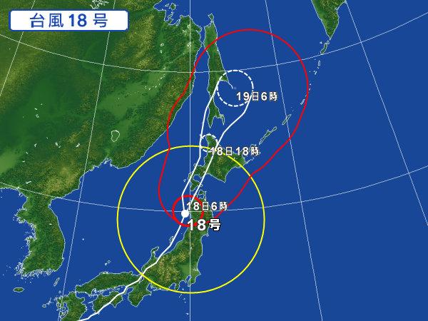 09/18の台風18号